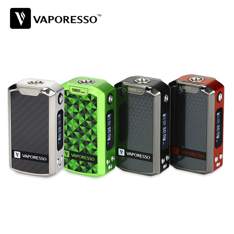 Original 80W Vaporesso Tarot Nano TC Box MOD Built-in Battery 2500mAh For VECO EUC Tank Max 80W Output Tarot Nano Mod Vape Mod