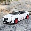 1:24 Масштаб Литья Под Давлением Модели Автомобиля Для Bentley Высокое Качество Пластиковые Металлического Сплава Спортивный Автомобиль Модель Коллекция Украшения Подарки На День Рождения
