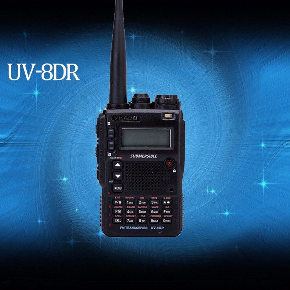 New VEASU UV-8DR Tri-Band 136-174/240-260/400-520mhz CB Radio ham radio walkie talkie VX-8DR baofeng bf-a58 uv-xr retevis rt3New VEASU UV-8DR Tri-Band 136-174/240-260/400-520mhz CB Radio ham radio walkie talkie VX-8DR baofeng bf-a58 uv-xr retevis rt3