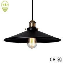 Jahrgang Industrielle Anhänger Licht Retro Decke Lampe Nordic Eisen Lampenschirm Loft Edison Lampe für Esszimmer Lampe Restaurant Bar