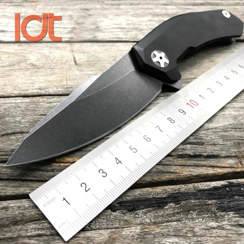 LDT 0095 Coltello pieghevole 9CR18MOV Lama G10 Manico con cuscinetto - Utensili manuali - Fotografia 2