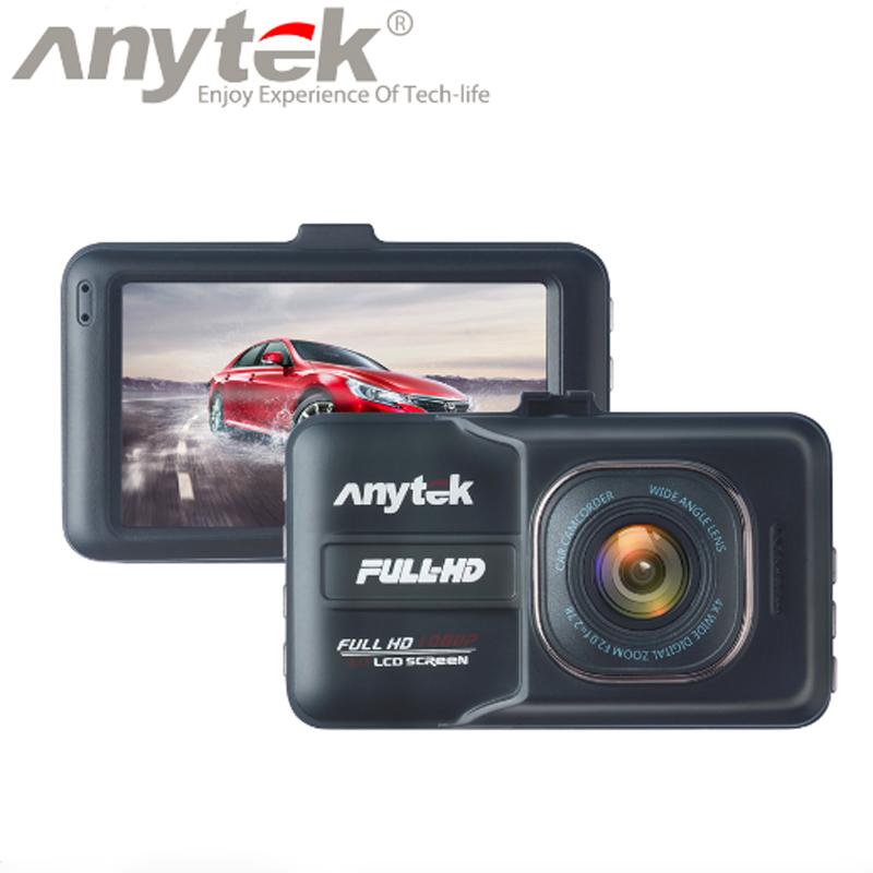 New origina Anytek A98 Car DVR Camera Recorder Novatek Dash Cam Full HD 1080P 3.0 LCD G-Sensor Night Vision Car Camcorder DVR цена