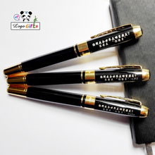 Classical roller ball pen personalized with your name and wishes 1pc is supported customized FREE within a classical gift box