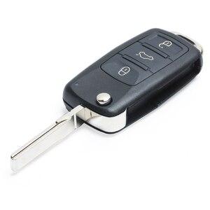 Image 4 - Запасная деталь Keyecu с функцией Go без ключа, флип Кнопка 315 МГц/433 МГц ID46 для VW Volkswagen Touareg 2002 2010