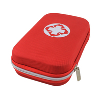 Hot Sell Car Emergency Kit With EVA And Nylon Red Car Styling Interior Storage Accessories Car