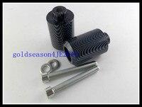 Carbon Frame Slider Fairing Protectors For 1996 2007 Yamaha YZF600R 97 98 99 00