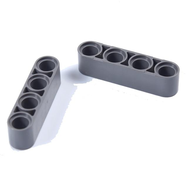 Toy Technic Liftarm 1*4 Thick 60P DIY kid diamond Building blocks enlighten playmobil ABS   Compatible