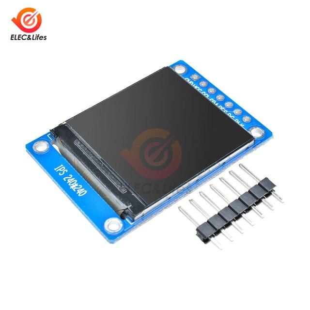1.3 pouce IPS HD TFT ST7789 lecteur IC 240*240 série SPI interface 3.3V polychrome numérique LCD OLED écran rvb Module matriciel