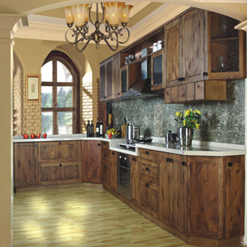 US $2998.0 |wood kitchen cabinet with cherry wood-in Kitchen Cabinets from  Home Improvement on Aliexpress.com | Alibaba Group