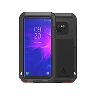 Love Mei Aluminum Metal Armor For Samsung Note 9 Shockproof Dirtproof Full Body Heavy Duty Case For Samsung Galaxy Note 9 Cover