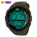 SKMEI Top Brand LED Digital Mens Military Watch Men Sports Watches 5ATM Swim Climbing Fashion Outdoor Casual Men Wristwatches