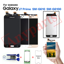 For SAMSUNG Galaxy J7 Prime SM-G610F LCD Display Screen Replacement for samsung SM-G610M G610Y G6100 display LCD screen module