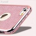 Caja de diamantes para el iPhone 11 Pro X XR XS Max 7 8 6s caso para Samsung Galaxy S10 lite S9 S8 más A10 A20 A30 A50 A70 M10 A5 A7 2018