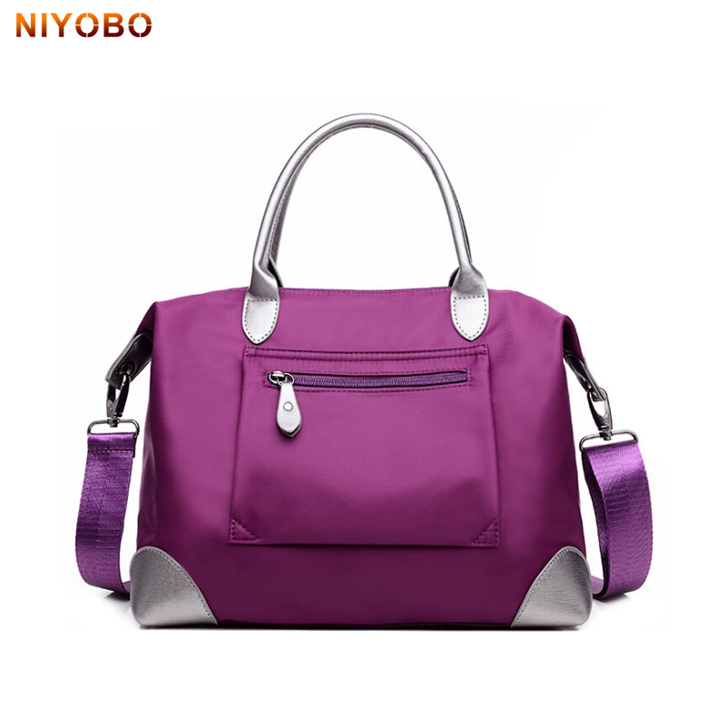 NIYOBO Nylon Dames Messenger Bags Schoudertas Waterproof Vrouw Handtas Casual 3 Kleuren Dames Crossbody Mummy Bag PT1238