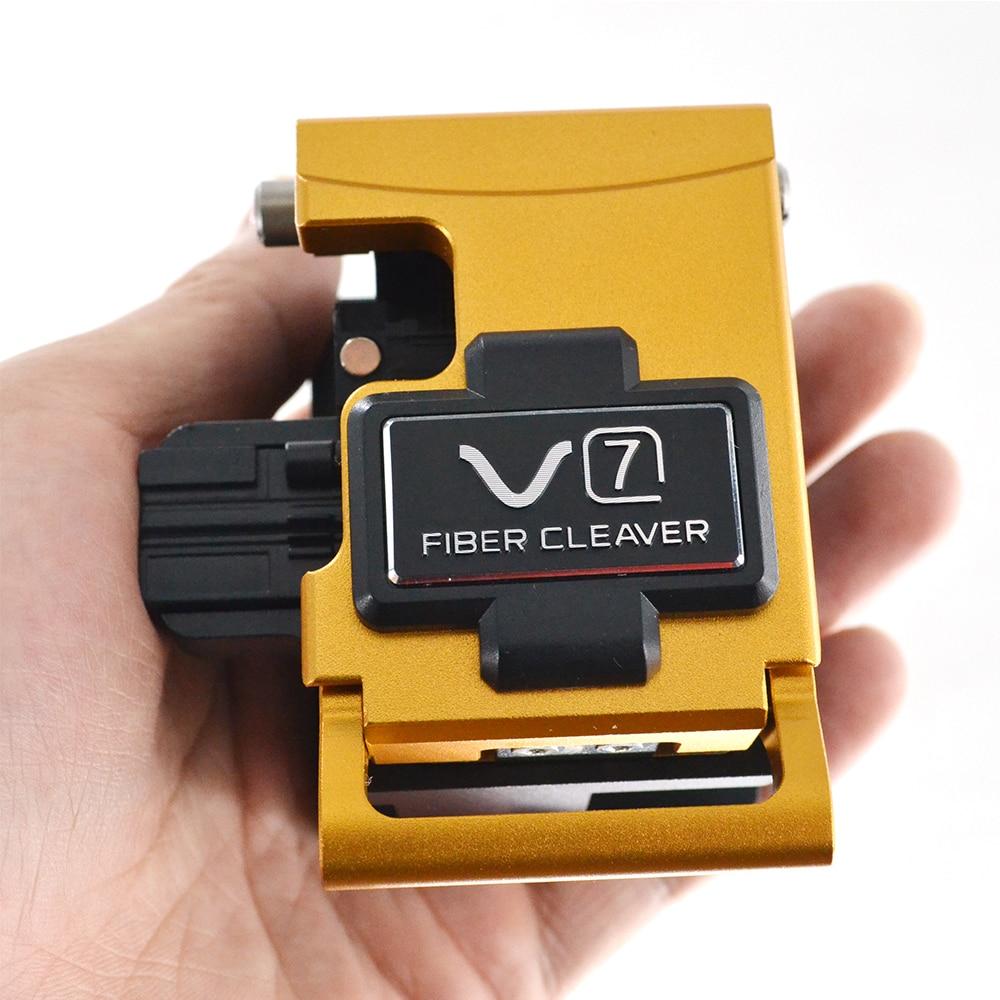 Corea del sud INNO V7 Fibra ottica Mannaia V7 FTTX FTTH Fibra Ottica Cleaver Utilizzato in Fibra di Fusione Splicer con 48000 in fibra di Mannaia