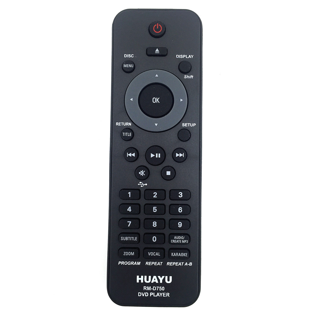 <font><b>Remote</b></font> Control Suitable <font><b>for</b></font> <font><b>Philips</b></font> <font><b>Dvd</b></font> <font><b>Player</b></font> hph091-rc2010 hph103-3141 rm-d622 rc-2011 huayu image