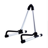 2017 Hot Sale New Foldable Folding Acoustic Electric Guitar Bass Stand Holder Floor Universal