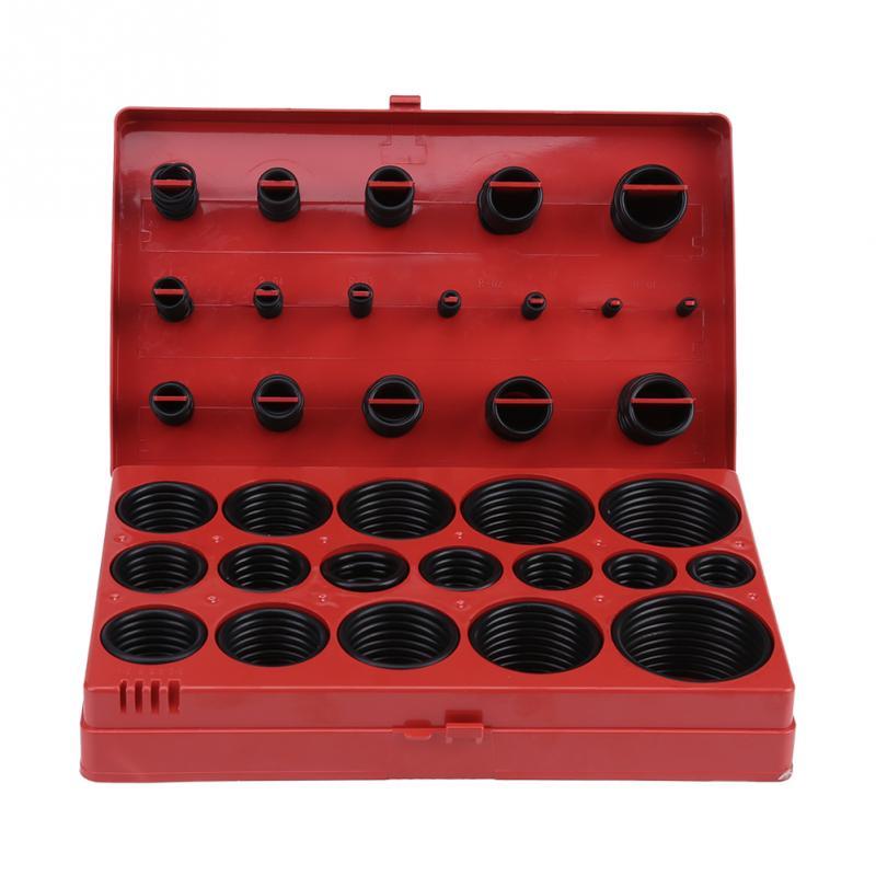 Onnfang 419 Pcs O-ring Assortment Set Seal Gasket Universal Rubber O Ring Kit General Plumbers Tool Kit AJDQ001 все цены