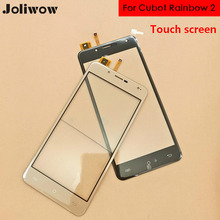 For Cubot Rainbow 2 LCD Display+Touch Screen+Tools 100% Original Digitizer Assembly Replacement Accessories For Phone cubot cheetah 2 lcd display touch screen 100% original new tested digitizer glass panel replacement for cheetah 2 tools adhesive