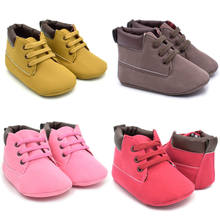 Fashion Baby Girls Boys Snow Boots Winter Booties Infant Toddler Newborn Baby Crib Martin Shoes(China)