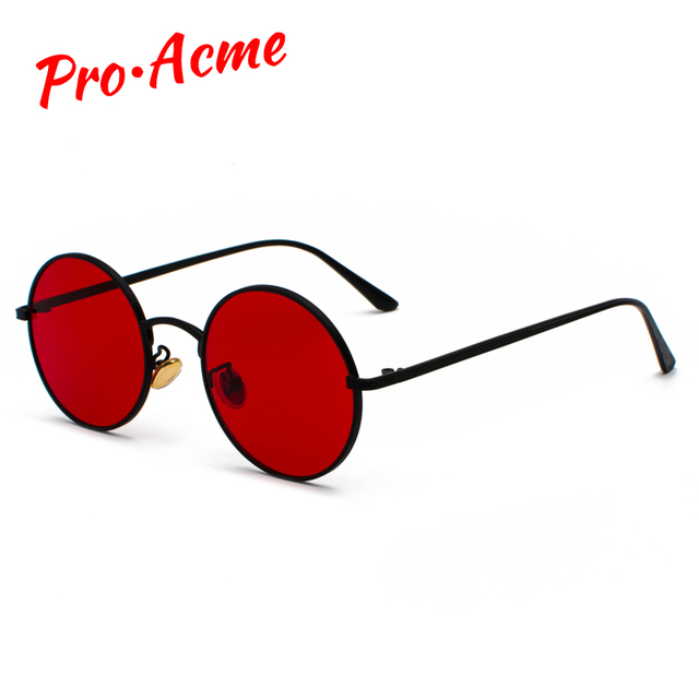 70ebba91a7 Pro Acme Gothic Steampunk Sunglasses Men Women Metal Eyeglasses Round  Shades Brand Designer Sun Glasses UV400 Protection CC1066