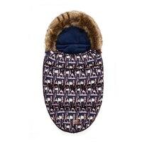 Hot sale 2018 New baby stroller cocoon sleeping bag anti kick winter plus velvet dual use thick cotton children's hug