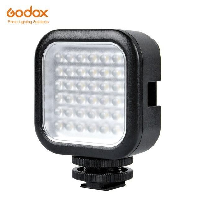 Godox LED36 5500   6500K Camera Led Lighting SLR LED36 Video Light Outdoor Photo Light for for DSLR Camera Camcorder mini DVR