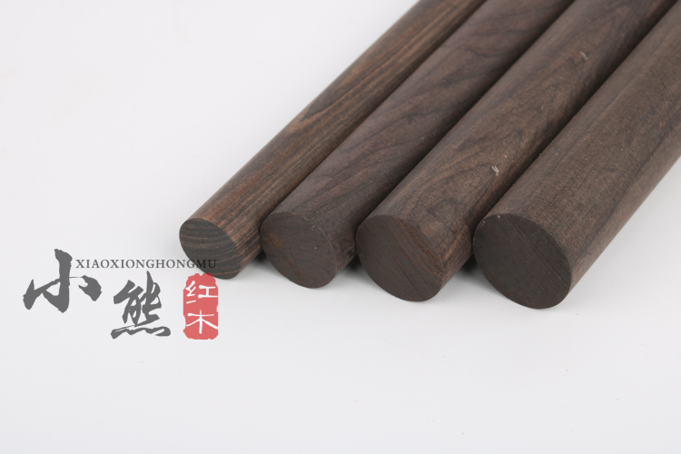 US $19 38 49% OFF|African Blackwood Ebony Dowel Pins wood lumber turning  blanks pen making round stick-in Wood DIY Crafts from Home & Garden on