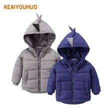 2 цвета! Куртка для мальчиков зимнее пальто Детская верхняя одежда Зимний стиль, и Обувь для девочек теплое пальто Одежда для от 2 до 6 лет