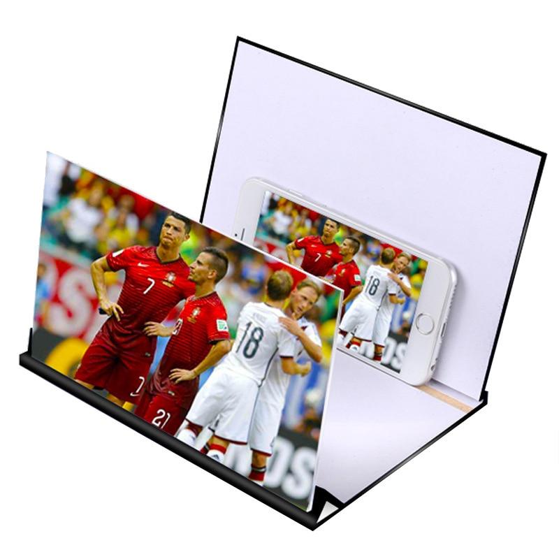 Hot Sale 5D Mobile Phone Amplifier Magnifier Lazy Bracket Mobile Phone Amplifier HD Video Eye 4 Video Peephole Magic Eye Glass