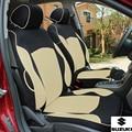 Special car seat cover for Suzuki Jimny Grand Vitara Kizashi Swift Alto SX4 Wagon R Palette Stingray BLACK/GRAY car accessories