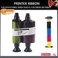 Новые запчасти для принтеров R3011 R3011C цветная лента для Evolis Pebble Series Dualys 3 Securion 200 принтов