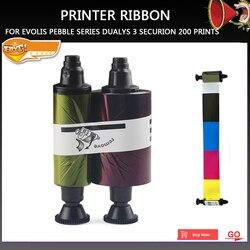 Nowa drukarka części R3011 R3011C kolor wstążki dla Evolis żwirowa serii Dualys 3 Securion 200 i w najlepszych cenach w Części drukarki od Komputer i biuro na