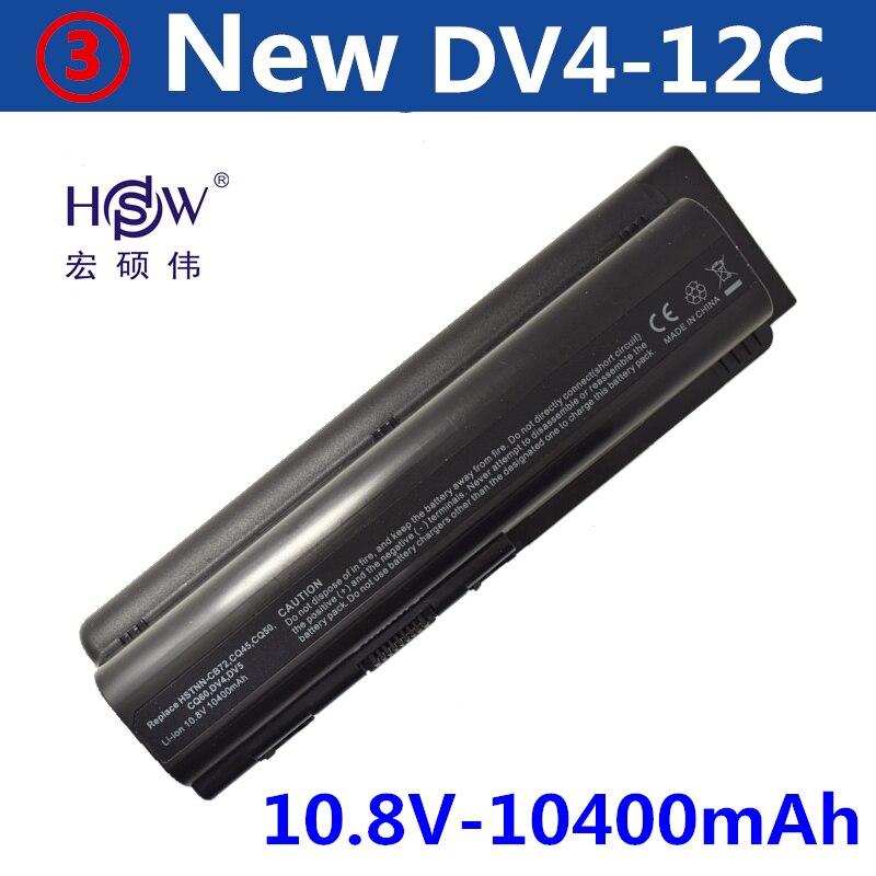 HSW 10400 mAH Batterie pour Compaq Presario CQ50 CQ70 CQ71 CQ61 CQ60 CQ45 CQ41 CQ40 Pour HP Pavilion DV4 DV5 DV6 DV6T G50 G61