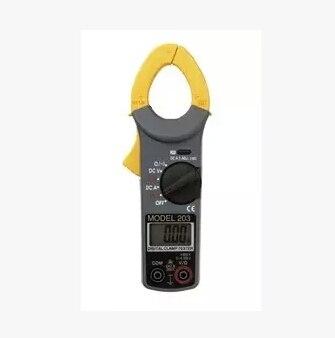 Fast arrival KYORITSU 203 Digital AC/DC Clamp Meter B 40A/400A AC 400V/600V AC 400V/600V DC мультиметр uyigao ac dc ua18