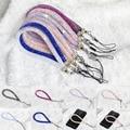 Искусственный Кристалл Шейный Ремешок Ремешок U Диск Держатель ID Карта Мобильный Телефон Цепи Ремни Брелок Повесьте Rope Lariat
