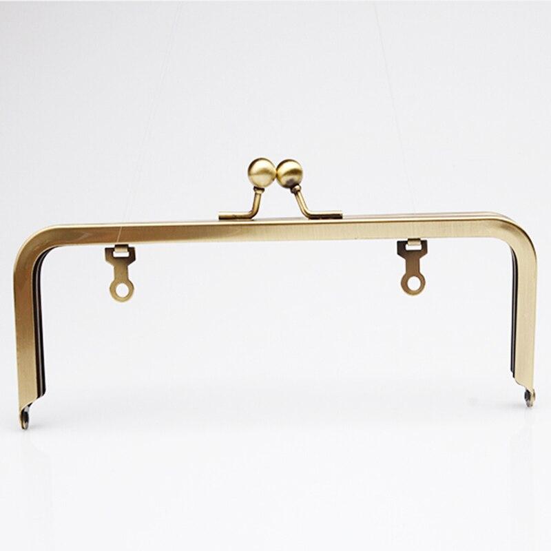 Boucles D'embrayage Bourse Antique De 5 Pouces Cadre Avec Laiton 18 Bronze Chaîne 20x7 Pcs La 8x3 Grand lot Cm 48BxwvwZq