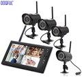 7 zoll Monitor Wireless Home Sicherheit Kamera System Nachtsicht Video 4 Überwachung Kameras Outdoor DIY SD Aufnahme DVR Recorder-in Baby-Monitore aus Sicherheit und Schutz bei