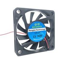 Шариковый подшипник масляного подшипника 6010 60 мм 60x60x10 мм DC 5 в 12 В 24 в ультра-тонкий бесшумный вентилятор для видеокарты вентилятор охлаждения с 2pin