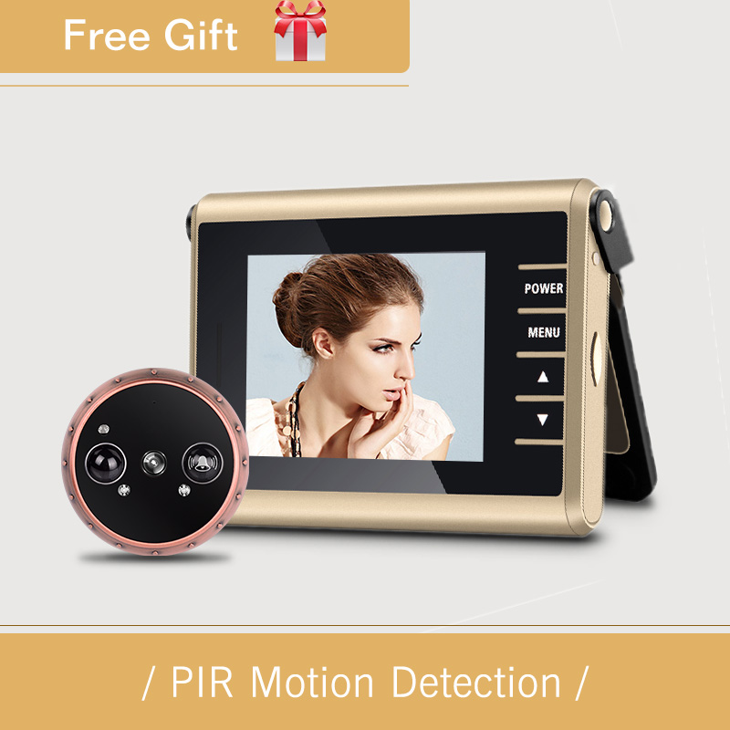 1.0Mega pixels and PIR Motion Detection auto take Video Recording home Wireless Door Peephole Camera with Doorbell optimal and efficient motion planning of redundant robot manipulators