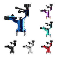 6 Colors Excellent Quality Dragonfly Rotary Tattoo Machine Professional Shader &Liner Assorted Tatoo Motor Gun Beauty Wholesale