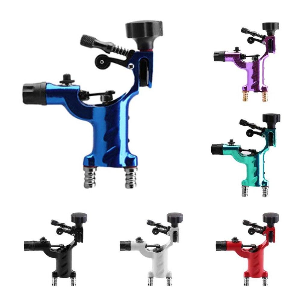 6 colori di Qualità Eccellente Libellula Macchina Rotativa Del Tatuaggio Professionale Shader & Liner Assortiti Tatoo Motor Pistola di Bellezza All'ingrosso