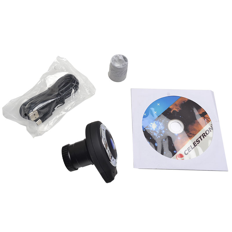 CELESTRON TD130 1.3MP Color CMOS Electronic Eyepiece Megapixel Camera Telescope USB Interface Connection Computer