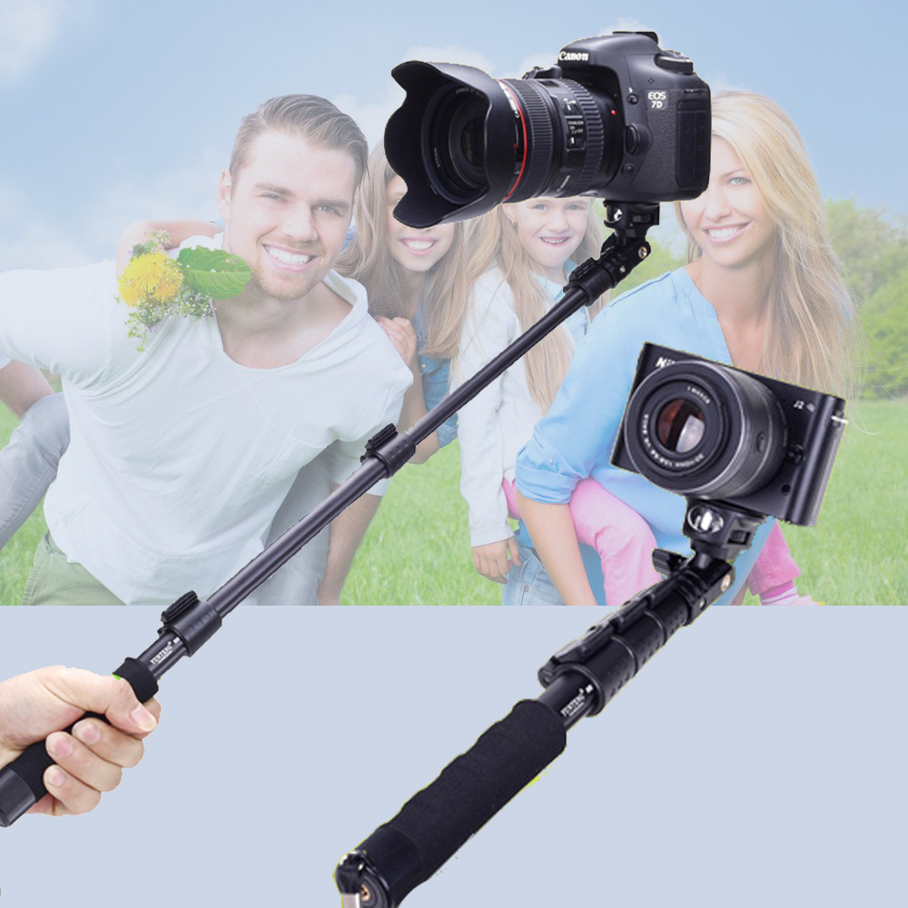Yunteng 088 Extendable Handheld Selfie Stick Self Timer Pole Self-portrait Monopod For Canon Sony Nikon DSLR Digital Camera стоимость