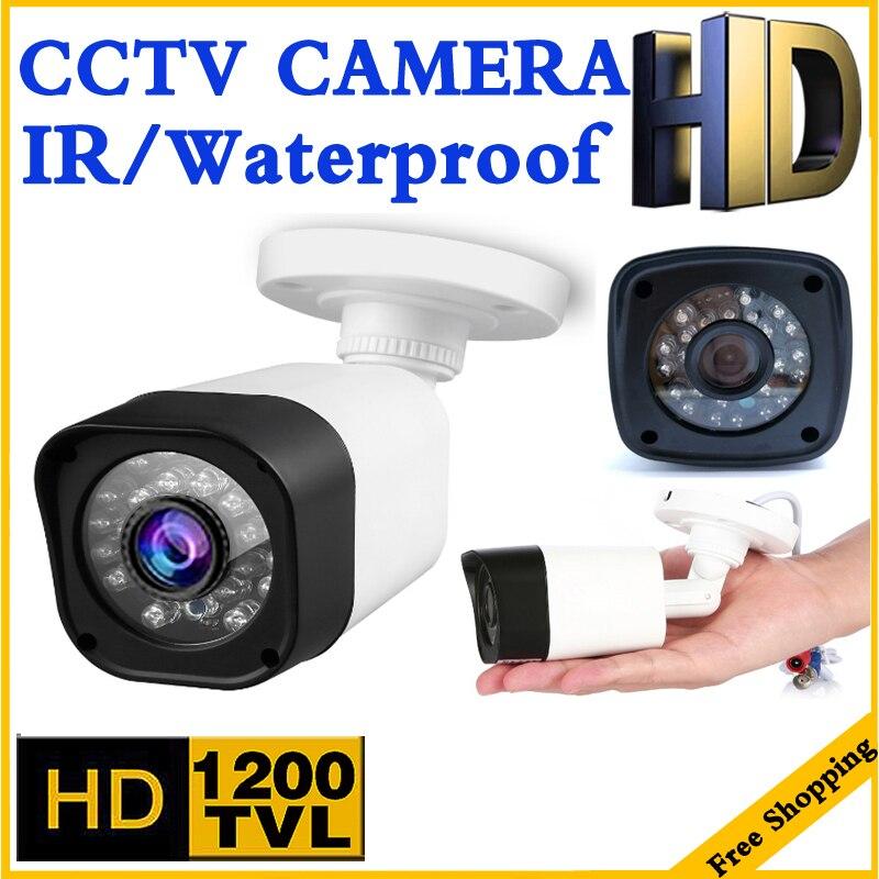 3.28 BigSale Reale 1200TVL del CCTV di Cmos HD Macchina Fotografica Impermeabile IP66 IRCUT 24led 30 m di Visione Notturna Video di sicurezza di monitoraggio mini vidicon