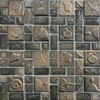 Classic Art Ceramic Mosaic Tile Kitchen Backsplash Tile Bathroom Wall Tiles Shower Background Tile Home Decoration