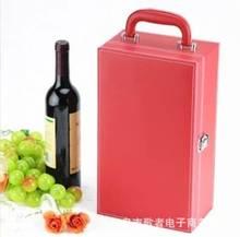 [Song] Красная кожаная записная книжка с двумя палочками, Подарочная коробка для вина от производителя, оптовая продажа Yiwu