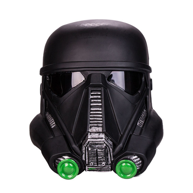 free shipping cosplay star wars death trooper helmet mask. Black Bedroom Furniture Sets. Home Design Ideas