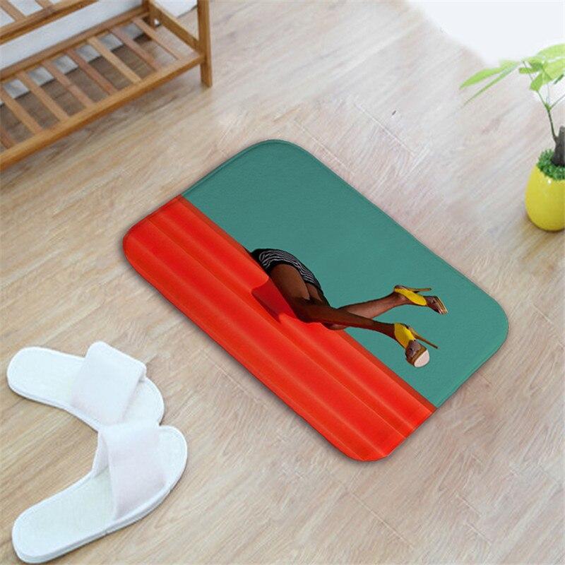 Super Absorbent Doormat Floor Mat for Entrance Door Oil Painting PBathroom Kitchen Carpet Outdoor Rugs Living Room Floor Mat Rug