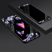 Tempered Glass Case for OPPO A85 A79 Full Cover with Screen Protection Film A77 A59 A57